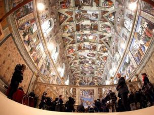 You Could Look It Up: Just about every one of the 300 figures Michelangelo painted on the Sistine Chapel ceiling was Jewish.