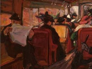 20th Century Limited: Theresa Bernstein?s paintings, such as 1916?s ?In the Elevated,? document the history of New York.