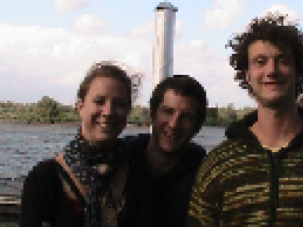 Itamar Avnon, right, died on the Malaysia Airlines flight that was shot down in Ukraine.