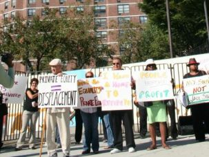 Renters? Remorse: Tenants protest unsafe living conditions in New York City.