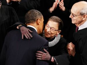 Ruth Bader Ginsburg, Stephen Breyer and the man who might replace them