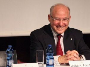 Returning to the Post: Jacob A. Frenkel, who served as the governor of the Bank of Israel will return to the post.