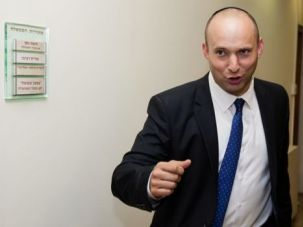 Running on Empty: Naftali Bennett is a man with much ambition.