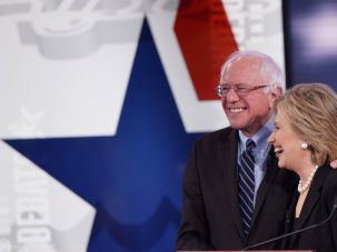 Clinton - Sanders