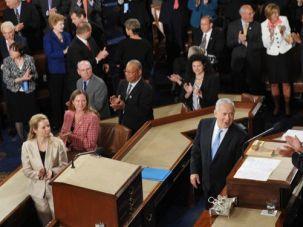 Standing Ovation?  Netanyahu's last speech before Congress was in 2011.