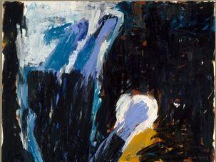 Georg Baselitz, ?Man of Faith,? 1983.