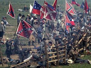 150 Years Later: Civil War re-enactors gather to honor the battle at Gettysburg.