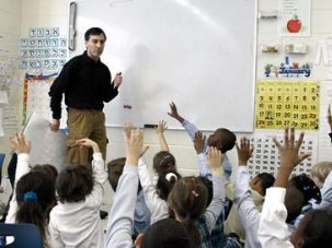 Immersion: At the Hebrew Language Academy, teachers integrate Hebrew into all aspects of the day, from mathematics to social studies to gym.