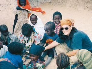 Helping Hand: Jen Marlowe made two acclaimed documentaries about Sudan.