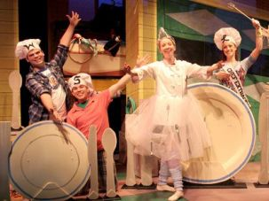 ?Fork, Knife, Spoon?: The musical ?Dear Edwina? features songs about life lessons big and small, including one number about how to set the table.
