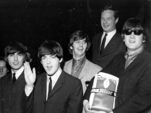 Fab Five: The Beatles and manager Brian Epstein will be depicted in the upcoming film ?A Life in the Day.?