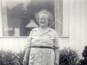Anna Soltzberg circa 1951.