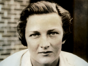 Pioneer: Helen Jacobs was a world champion American women's tennis player. Known for her powerful serve and overhead smash, she won 10 Grand Slam titles in her lifetime. Jacobs was named the AP Female Athlete of the year in 1933. As an out lesbian, she broke with tradition by wearing men's shorts on the court. Jacobs was also a commander in the US Navy intelligence during World War II.