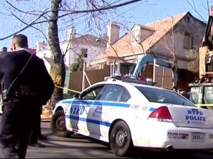 Arson in Forest Hills targeting Bukharian Jews.