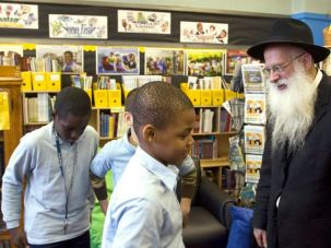 ?For the Good of the Children?: Avraham Frank says the students of P.S. 191 benefit from a moment of silence.