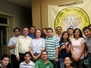 Jewish Souls: The small community of converts sorrounding Casa Hillel in Guatemala City has about 50 members.