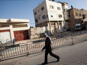 Occupied: Netanyahu ordered that a contested home (pictured here) in Hebron be occupied by settlers after the nearby shooting of an Israeli.