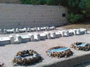 Somber Memorial: The graves of Jews killed by an Arab mob during the 1929 Hebron massacre.