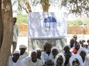 Refugees: The Hebrew Immigrant Aid Society runs programs and classes at its five camps for Darfuri refugees in Chad.