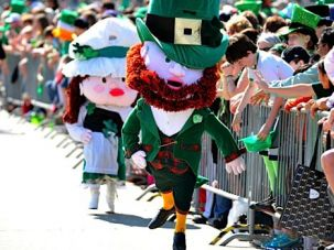 Blarney?s Version: A leprechaun does his best Michael Flatley impersonation on St. Patrick?s Day in Chicago.