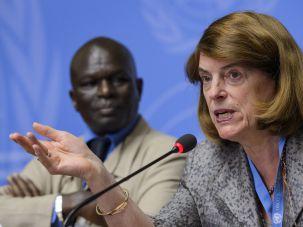 Mary McGowan Davis discusses U.N. report on possible Gaza war crimes.