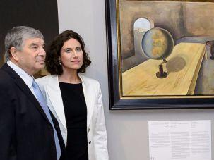 merkel holocaust art