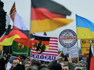 The People or the Prejudiced? A Pegida rally on January 25