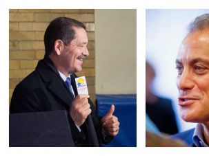 "Jew Vs. Jesus? Jesus ""Chuy"" Garcia and Mayor Rahm Emanuel face off in Tuesday's general election for Chicago mayor."