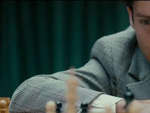 Tobey Maguire as Bobby Fischer in 'Pawn Sacrifice.'