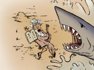 Shark, Swallow You Whole: The Jewish fascination with sharks goes all the way back to Jonah.