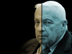 Divided: Sharon inspired sharp reactions that were often contradictory.