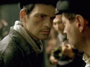 """Géza Röhrig as Saul in """"Son of Saul."""""""