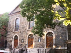 Tradition: The 145-year-old synagogue is on Manhattan?s Lower East Side.