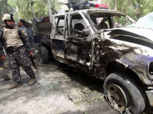Top Target: A May 30 car bombing in Iraq, where more than a third of terrorist deaths have occurred over the past decade.