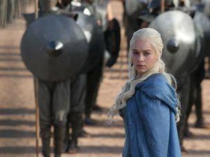 Look Back in Anguish: Emilia Clarke plays Daenerys Targaryen on HBO?s ?Game of Thrones.?