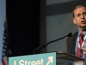 Adrift: Jeremy Ben-Ami, J Street's leader, now needs to find a new raison d'etre for the group.