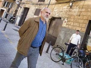 Lost Quarter: Man walks through the Jewish quarter in Mallorca. Two Spanish towns are holding a mock wedding to recall their Jewish heritage.