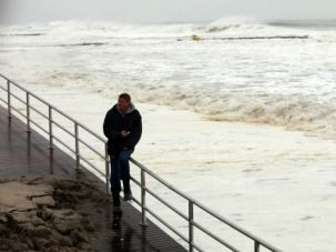 Waiting for Worst: As Hurricane Sandy approached the northeast, schools and stock markets shut down in its path.