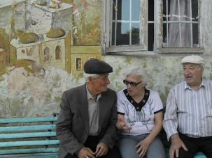 Dwindling: There are fewer than 200 Jews left in the Black Sea enclave of Abhkazia, a small fraction of the community?s former size.