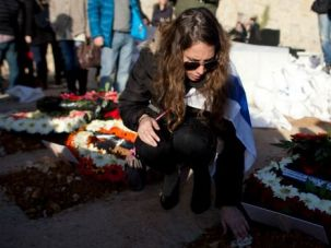 History or Farce? A woman mourns at the funeral for four French Jews killed in the terror attack on a kosher grocery in Paris.