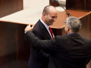 Bromance on Rocks? They?re the new BFF?s of the Israeli political world. But Yair Lapid and Naftali Bennett can?t quite agree on gay marriage.
