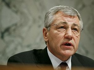 Nasty Fight: Chuck Hagel has had plenty of charges lobbed at him. The nastiest is the accusation that he is an anti-Semite.