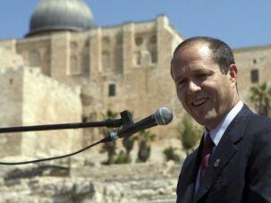 Close Race: Nir Barkat, the secular mayor of Jerusalem, narrowly won an election for a second term.