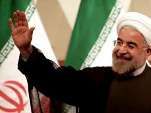 Call For Action: President Obama has said he will consider meeting with Iranian President Hassan Rouhani in New York next week, but wants actions rather than words.