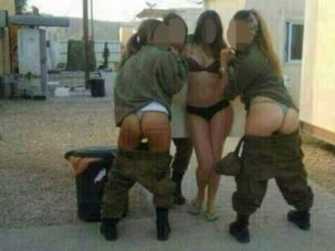The IDF is increasingly worried about the danger of R-rated images like this shared on social media — along with threats to military secrecy.