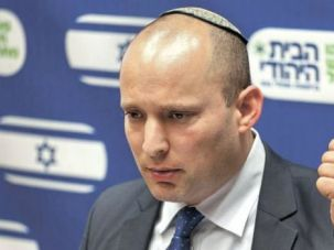 No Rights: Right-winger Naftali Bennett says Israel should forget about the two-state solution and act unilaterally in regard to the Palestinians.