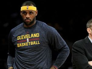 Cleveland Cavaliers coach David Blatt is getting used to working with superstar LeBron James.