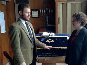 Remarkable Bond: Rabbi Akiva Herzfeld opened the doors of his Orthodox shul to Rabbi Alice Goldfinger, despite traditional reservations about women leading prayers.