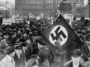 Rising Menace: Despite the obvious writing on the wall, many American and German Jews failed to adequately recognize the devastating threat posed by Nazism.