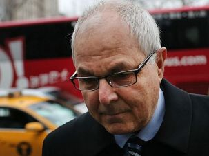 Bat Mitzvah Break: Peter Madoff arrives in court for sentencing on fraud charges. A judge threw the book at Bernie Madoff?s brother, but allowed him to delay reporting to prison until after his granddaughter?s bat mitzvah.